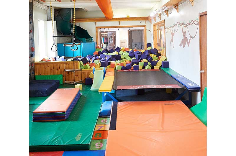 The Jungle - great equipment for young gymnasts