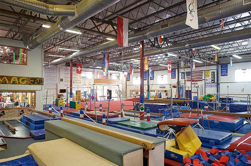 Maine Academy of Gymnastics facility